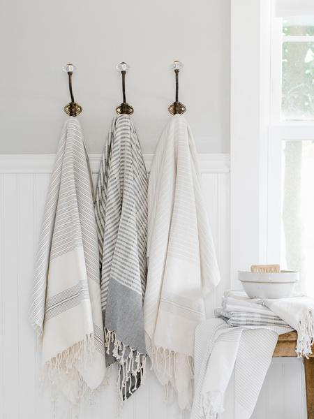 Don't be afraid to splurge on the best towels you can afford.