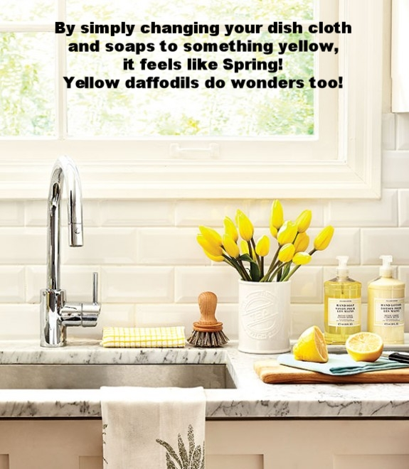 kitchen-marble-counter-flower-vase-yellow-tulips-window-cutting-board-spring-cleaning-organized-sink-e1393609069491-575x660.jpg