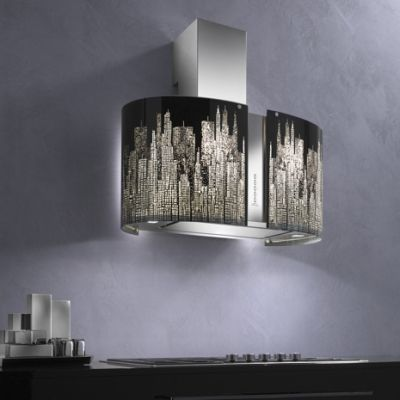 There really is no limit on how creative you can get with a range hood!