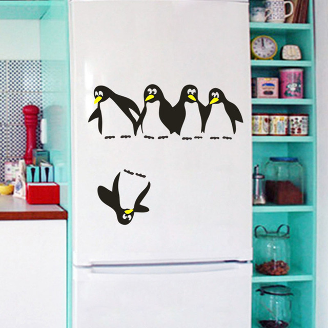 add a fridge sticker - SO many to choose from