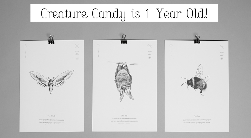 Creature Candy 1 Year Old