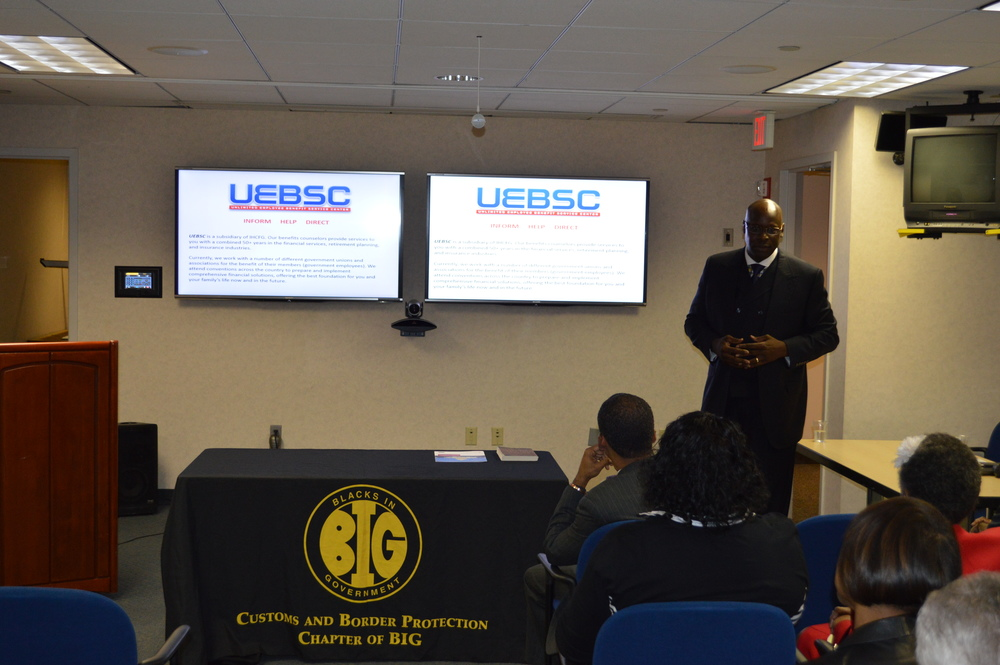 Chief Operating Officer, Mr. Brian Shackleford, speaking at our BIG Benefits & Retirement Workshop in Washington, D.C.
