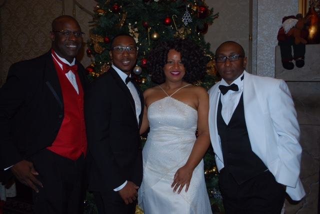UEBSC Executives (from left to right) Brian Shackleford (COO), Corico McCray (CMO), Tonette Delk (Director of Communications), and Cedric Lancaster (CEO).