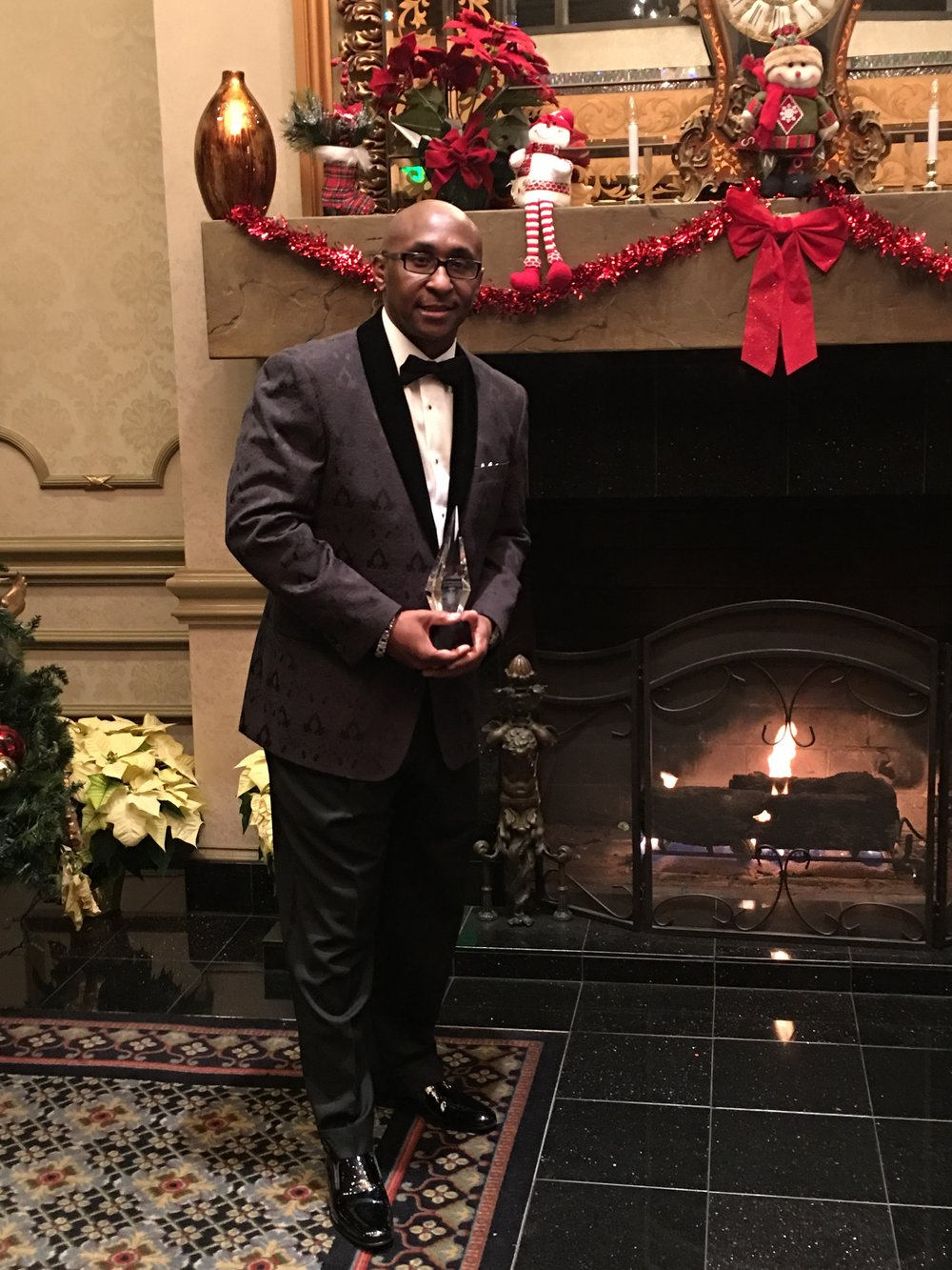 Mr. Lancaster & UEBSC was awarded the Excellence Award for the Most Outstanding Sponsor within Blacks in Government (BIG) - December, 2016