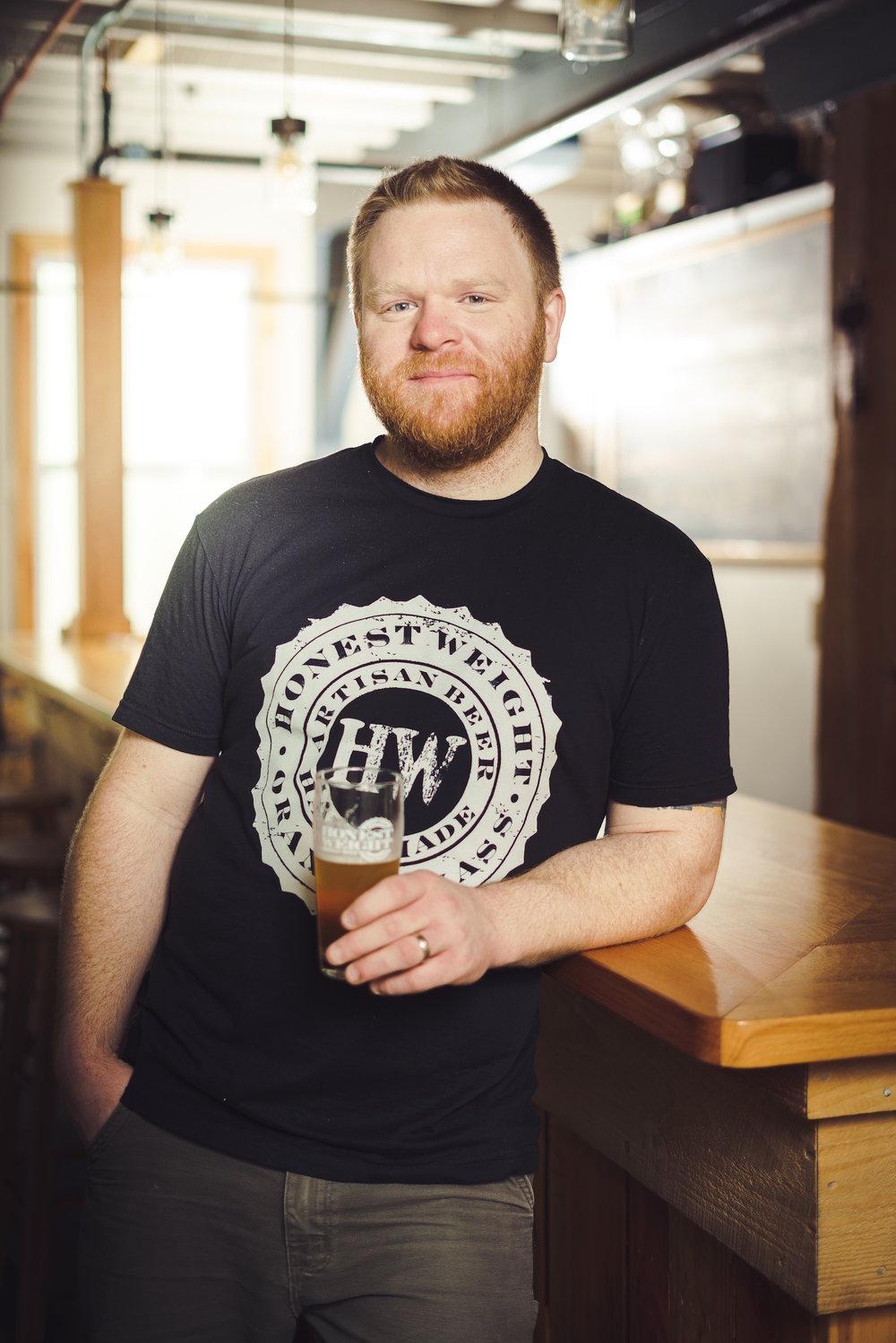Sean Nolan - Owner-Brewersean@honestweightbeer.com
