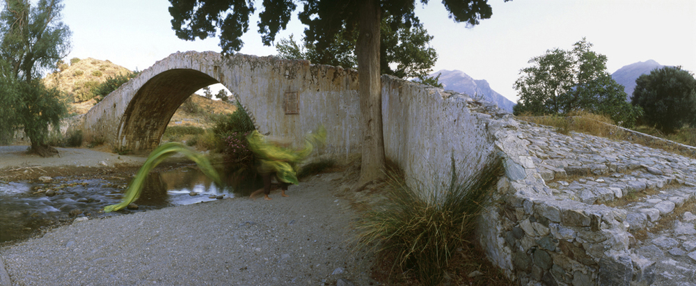 'Body Field: Temporal Inscriptions. Bridge' - 150cm x 50cm - Chromogenic Print - 2006 : SOLD