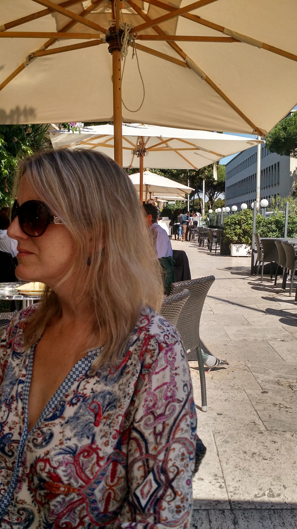 Outdoor cafes stops are a plenty during your time in Italy