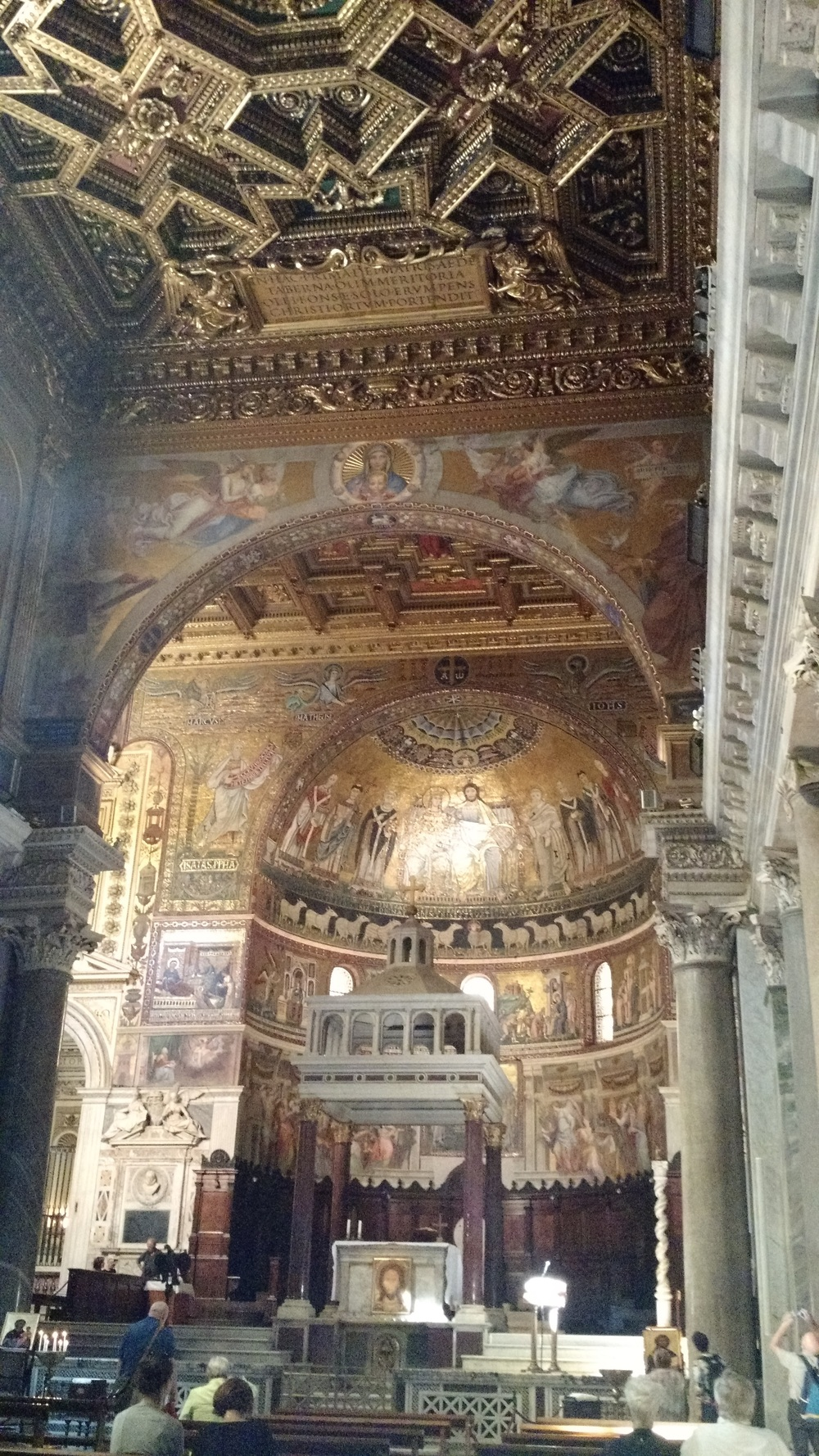 One of Rome's first religious sites - Sant Maria in Trastevere