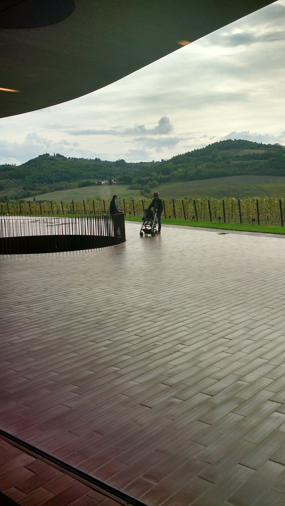 The new Antinori Winery