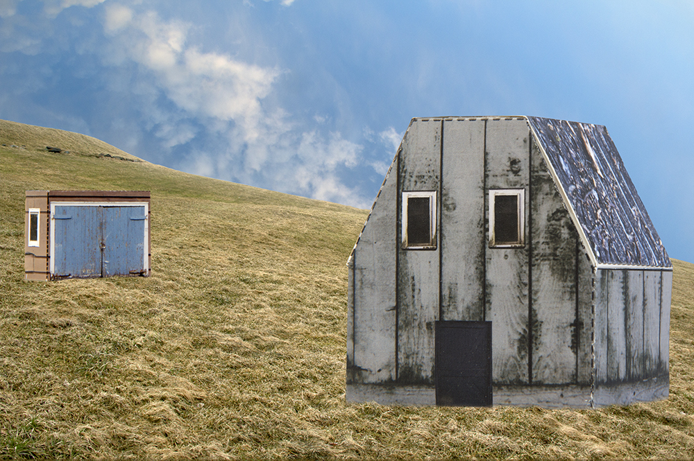 "'Barn & Shed', inkjet print on paper 1/5, 13"" x 16"" - $295"