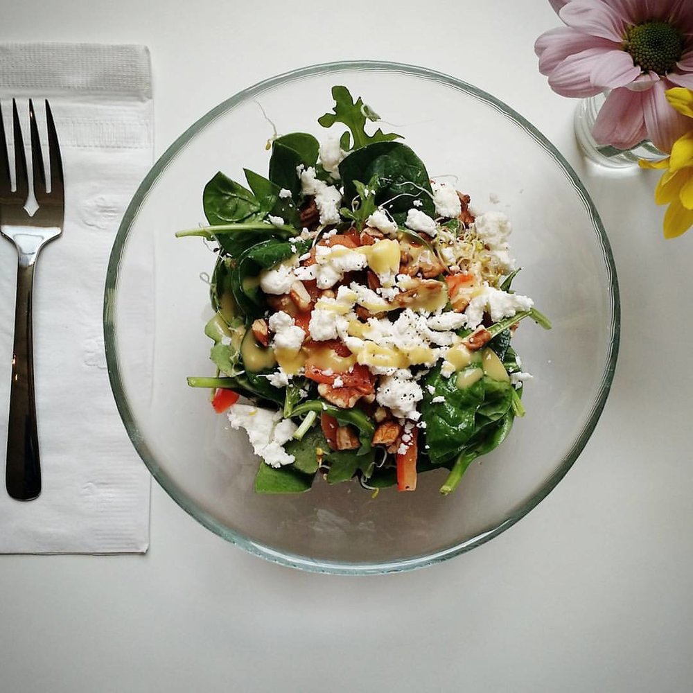 Copy of Salads can be made individually or pre-portioned in a large serving bowl for your guests.