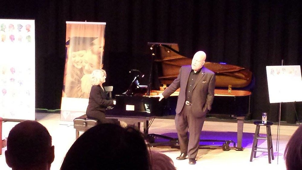 Marginson was accompanied by Halifax pianist Diane Torbert. What a night!