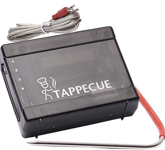 Tappecue - V2.0 4 Probe Wifi BBQ Thermometer -