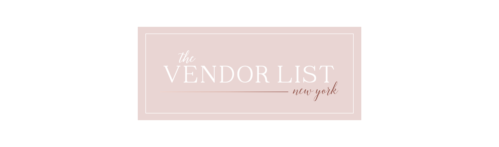 Wedding Vendors New York | vendor list | custom wedding invitations|  styled by randi