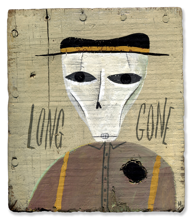 'Long Gone' illustration ©Mark Hoffmann