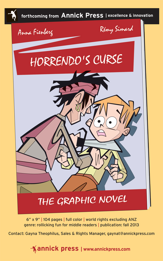 Horrendo's Curse cover art ©Rémy simard/i2iart