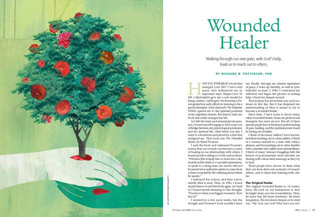 wounded healer godeassi art