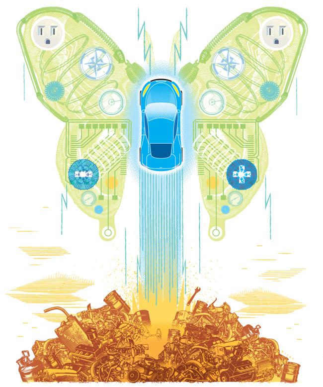Electric Car - CW100