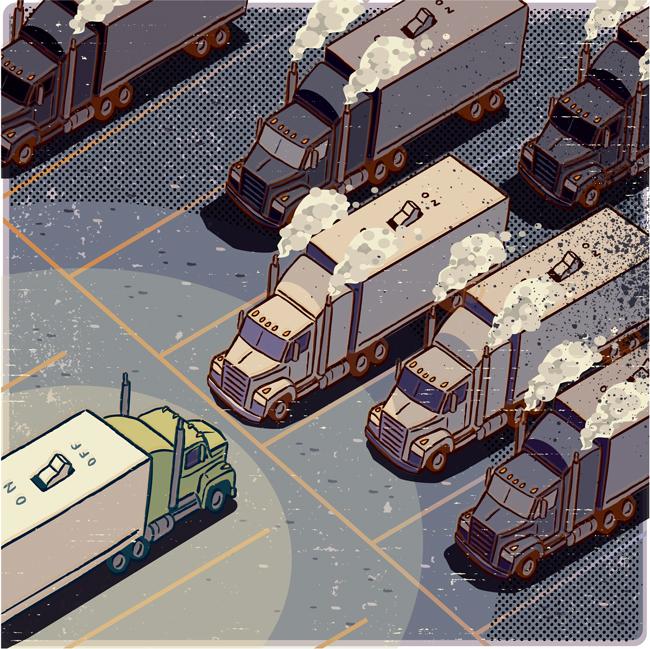Idling Trucks - CW178
