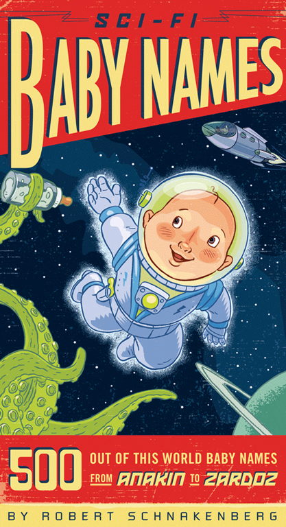 Sci-Fi Baby Names - CW154