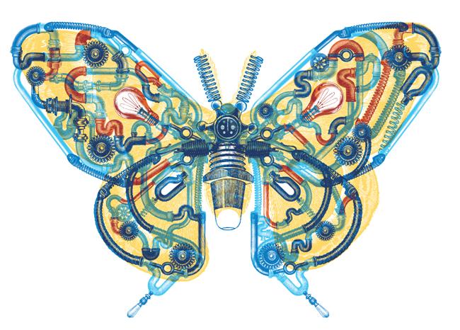 Mechanical Monarch - CW136
