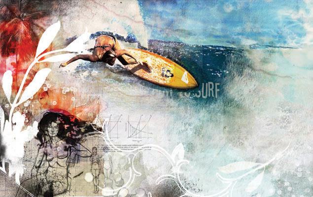 Surfer Girls - JK145