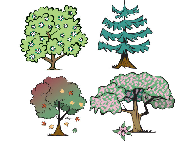 Tree Icons - RS737
