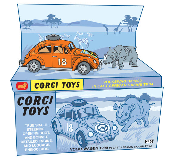 Corgi Toy Car - RS766