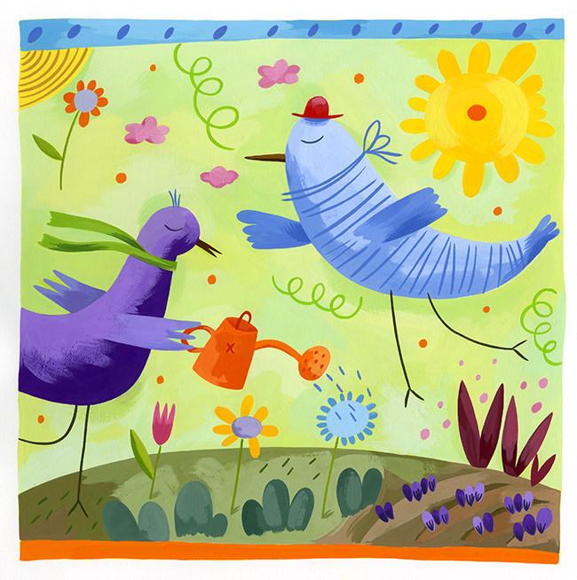 Garden Birds - BE215