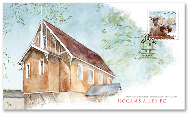 Hogan's Alley Church - JK255a
