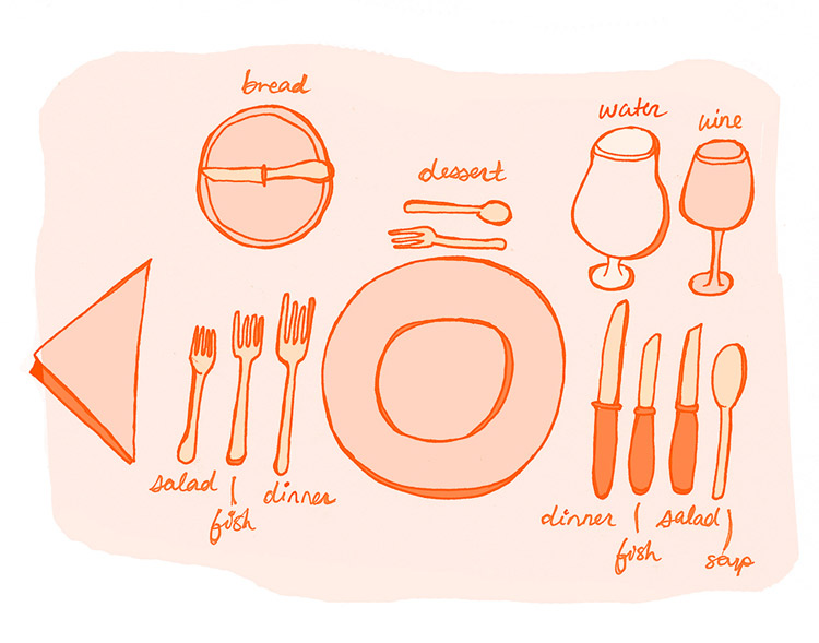 Formal Table Setting - JD241