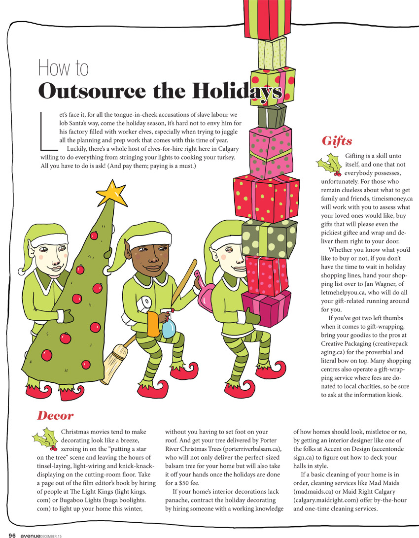 Outsourcing the Holidays - MM839