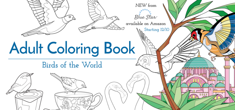 Birds of the World: Adult Coloring Book by Remy Simard | i2i Art Inc ...
