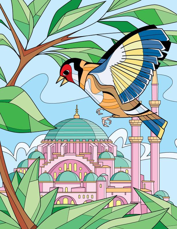 Bird in Paradise - RS821c