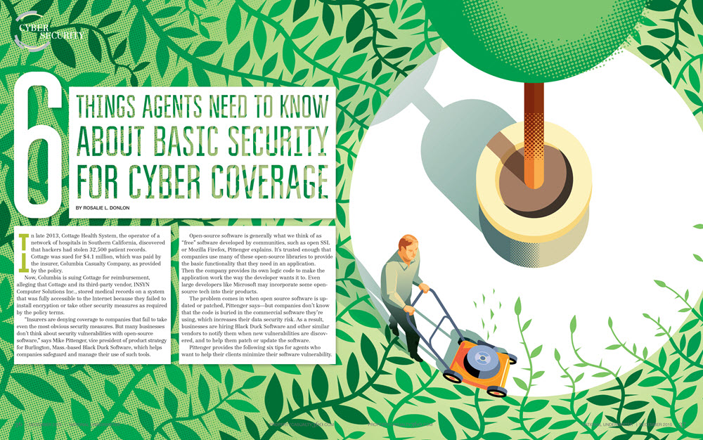 Carl Wiens Cyber Coverage Illustration
