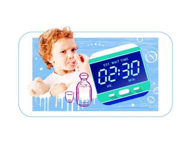 Hospital Wait Time App