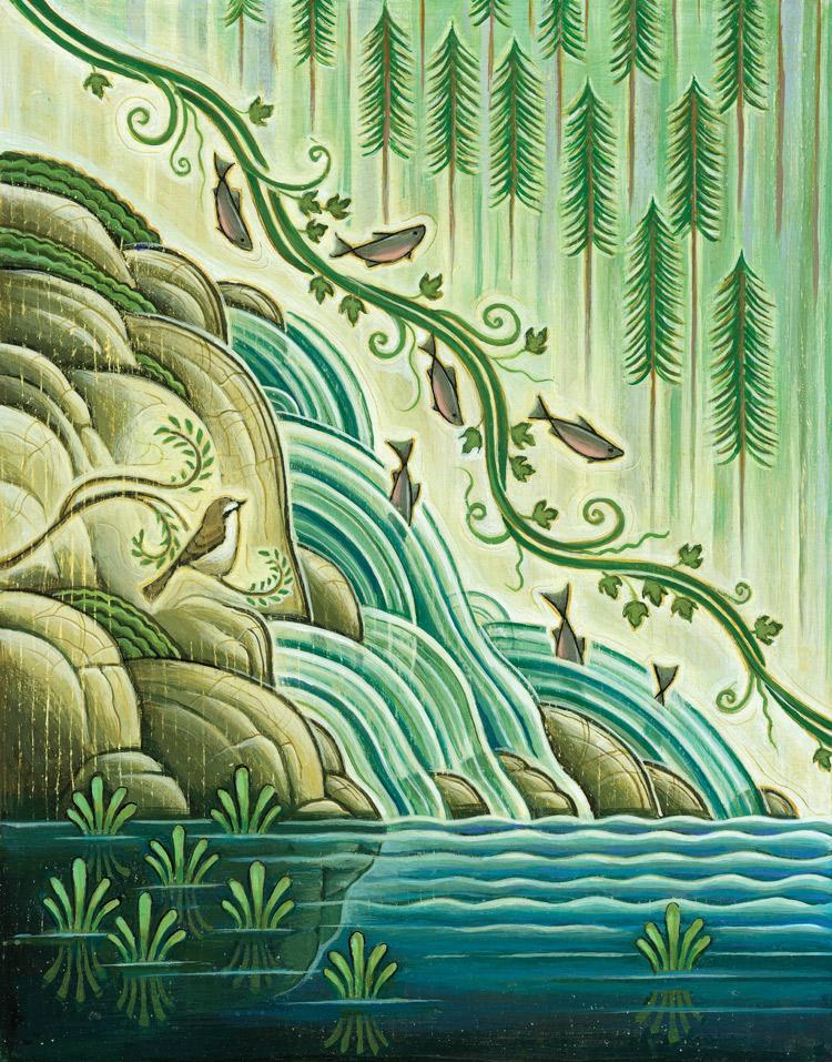 Salmon Stream - TZ280
