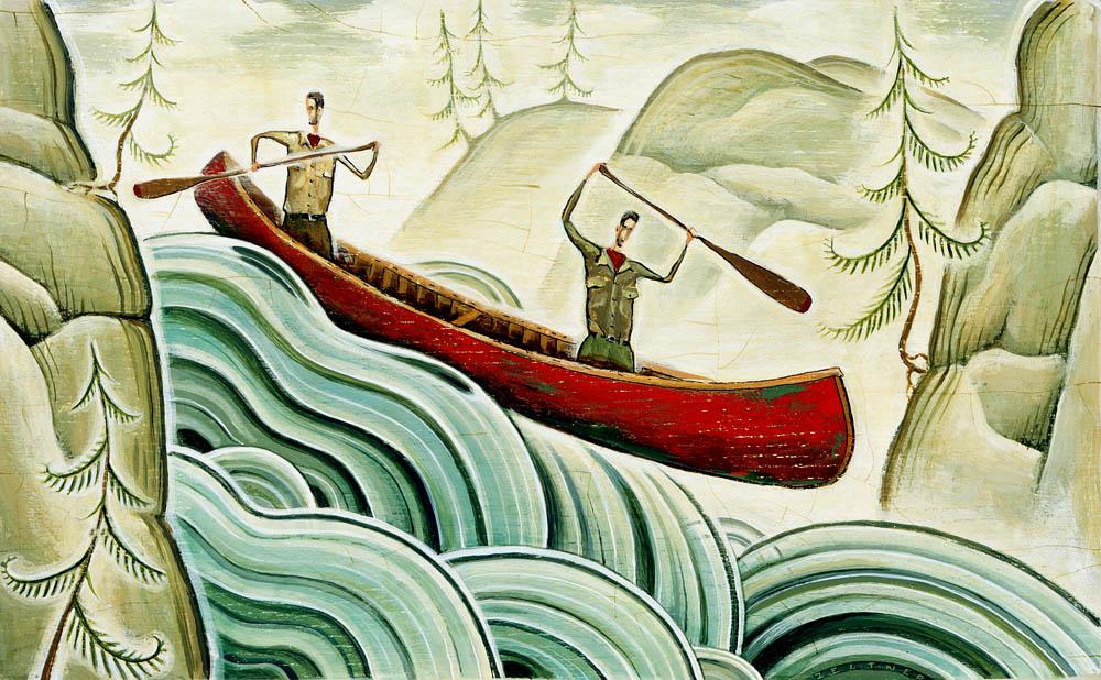 Canoe Trippers - TZ188