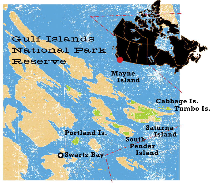 Gulf Islands National Park - CW235