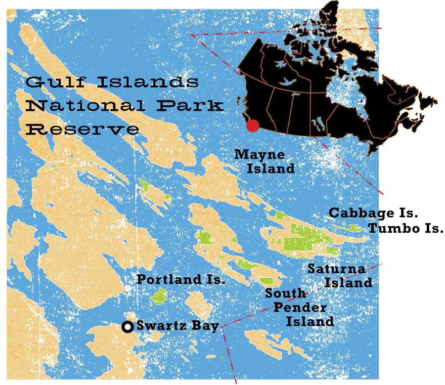 Gulf Islands National Park - CW235