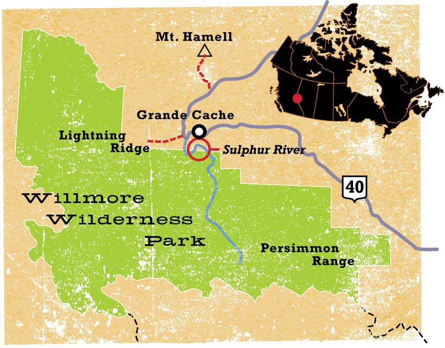 Willmore Wilderness Park - CW234