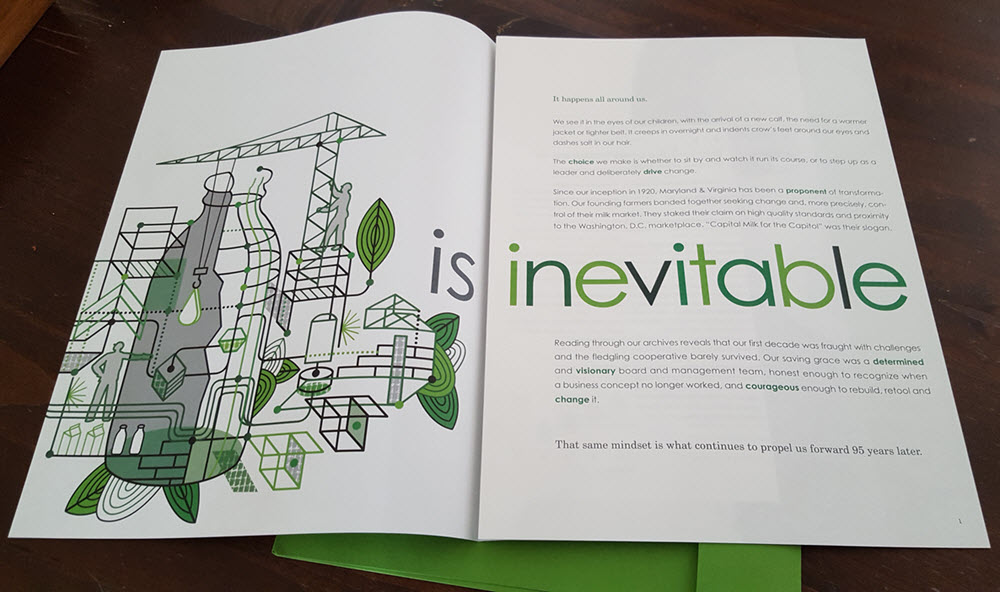 Thom Sevalrud Annual Report Inside Illustration