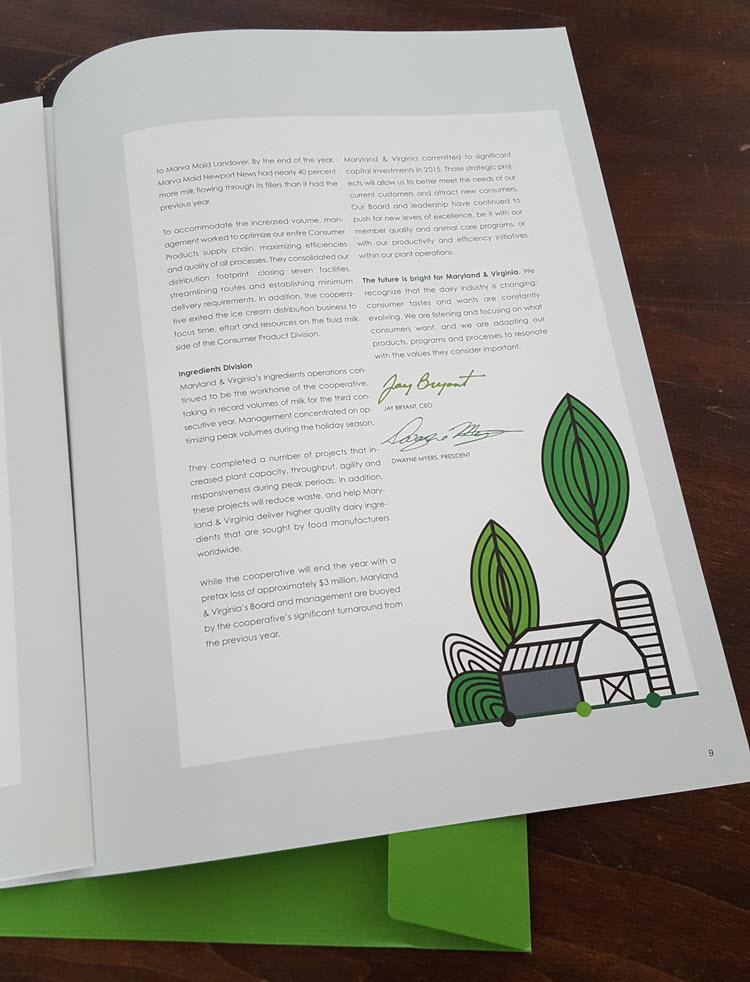 Thom Sevalrud Annual Report Spot Illustration
