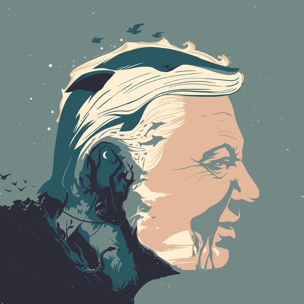 Naturalist Sir David Attenborough - EC206