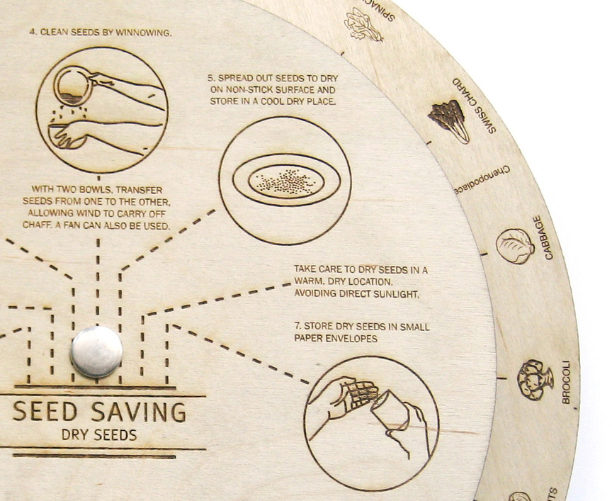 Seed Saving Wheel Detail - JD358b