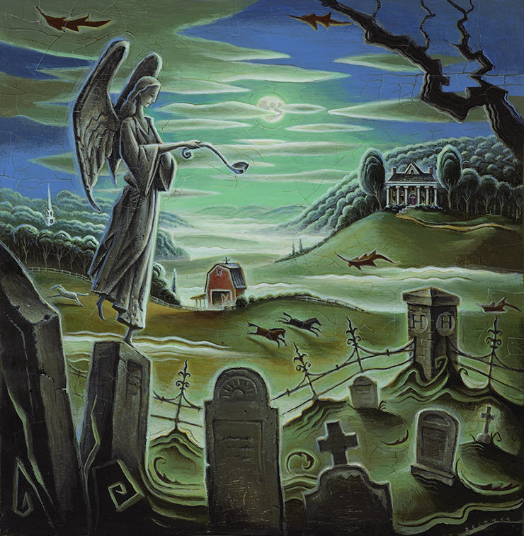 Death and the Gravedigger's Angel