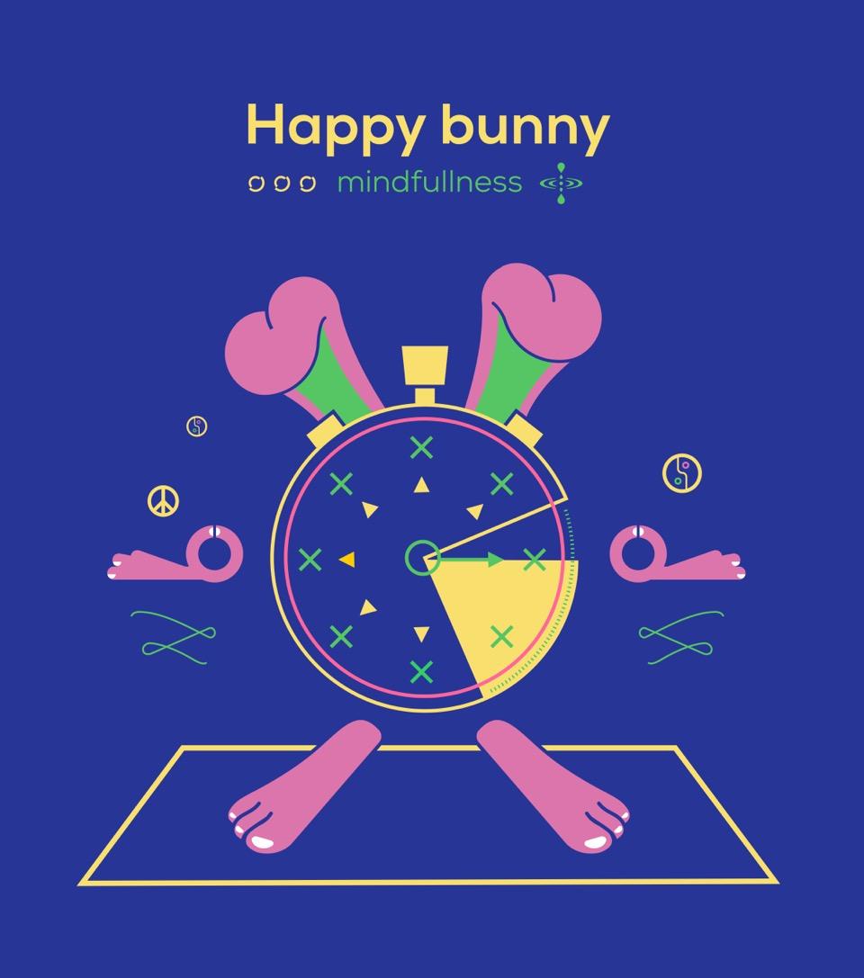 Happy Bunny - AY189
