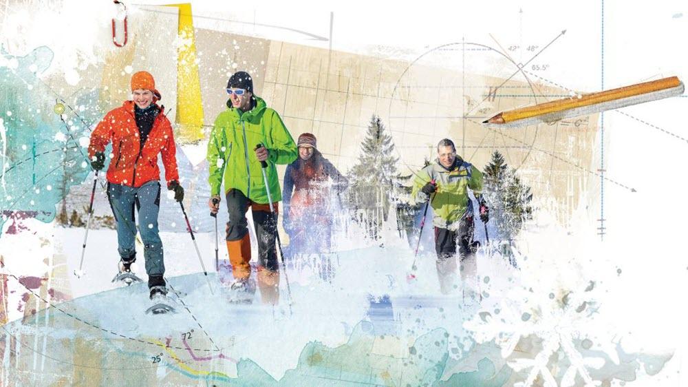 Snowshoeing - JK351