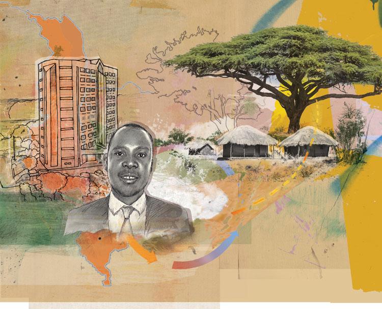 Daniel Jenya in Malawi - JK353