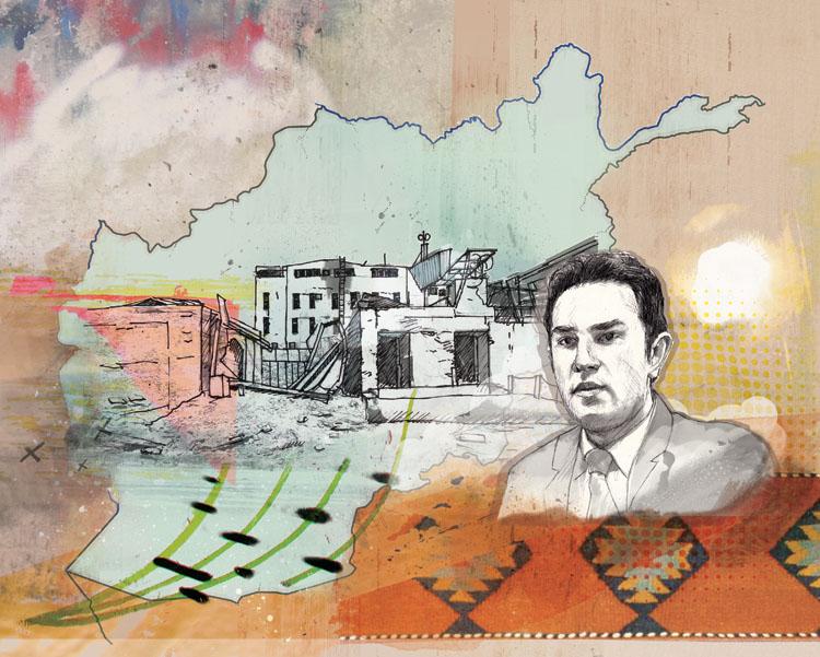 Wahid Waissi in Afghanistan - JK355